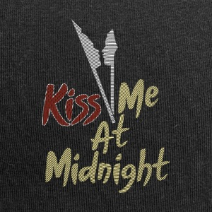 New Year's Eve Party! kiss me at midnight - Jersey Beanie