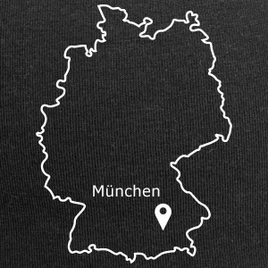 place to be: Munich - Jersey Beanie