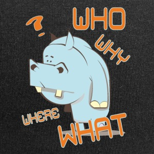 Why who - Jersey Beanie