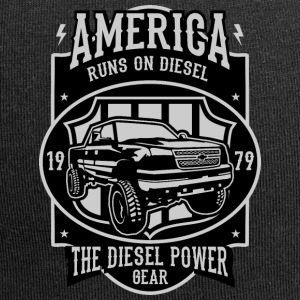 America Runs On Diesel - Jersey Beanie