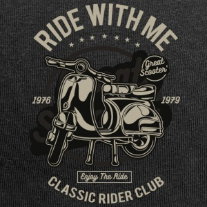 Ride With Me Vespa - Jersey-Beanie