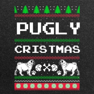 Pugly Kerstmis - Jersey-Beanie