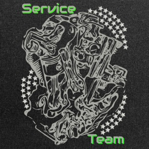 Service collection engine green - Jersey Beanie