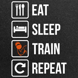 Eat Sleep Repeat Gym Fitness - Jersey-Beanie