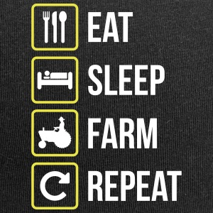 Eat Sleep Farm Repeat - Jersey Beanie
