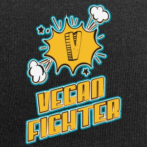 vegan t shirt Vegan fighter - Jersey Beanie