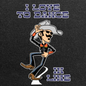I love to dance in line road - Jersey Beanie