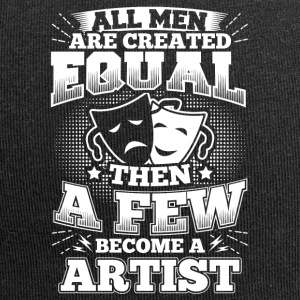 Artist Arts Art Shirt T-Shirt All Men Equal - Jersey-Beanie