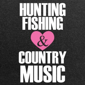Caccia Pesca Country Music - Beanie in jersey