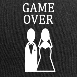 GAME OVER ++ ++ - Czapka krasnal z dżerseju