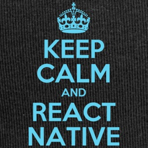 KEEP CALM AND REACT NATIVE SHIRT - Jersey Beanie