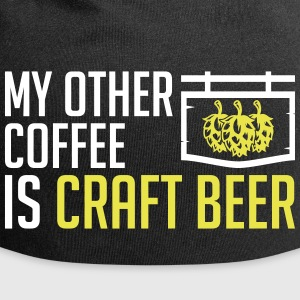 My other Coffee is craft beer - oktoberfest - beer - Jersey Beanie