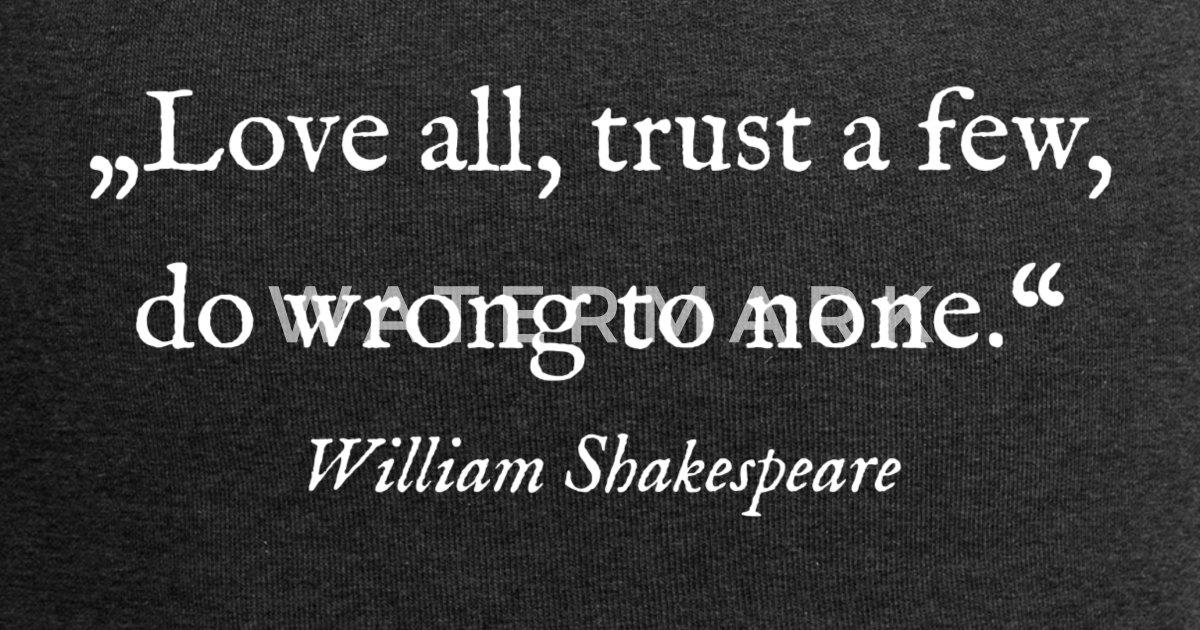 Sprüche liebe und vertrauen