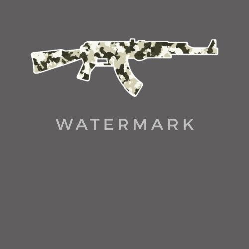 081054b02 AK 47 - AK47 - Russian assault rifle Beanie   Spreadshirt