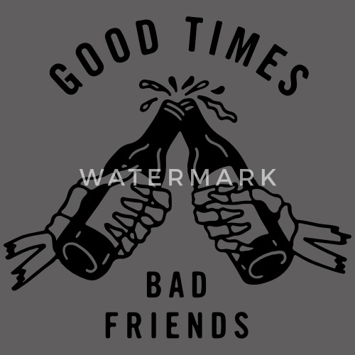 good and bad friends