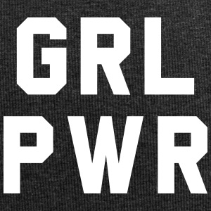 Girl Power - Beanie in jersey
