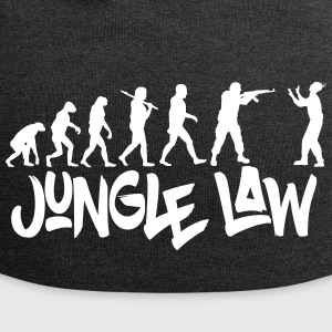 JUNGLE_LAW - Jersey-beanie