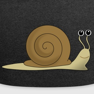 Brown escargot - Bonnet en jersey