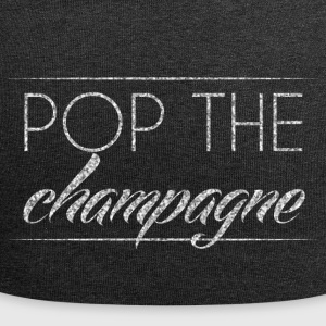 Sylvester / Nouvel An: Pop The Champagne - Bonnet en jersey