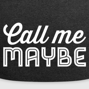 Call me maybe white - Jersey Beanie
