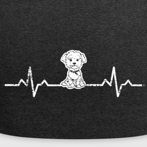 Un cuore per i cani West Highland White Terrier - Beanie in jersey