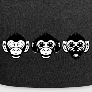 Three Wise Monkeys - Jersey Beanie
