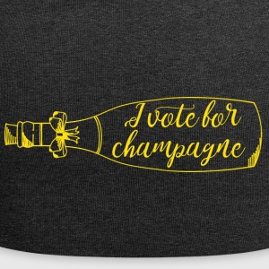 New Years Eve: I vote for champagne - Jersey Beanie