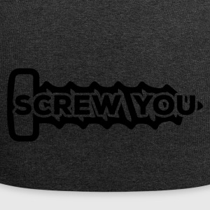 Mechaniker: Screw You - Jersey-Beanie
