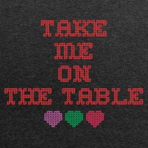take me on the table - Jersey Beanie