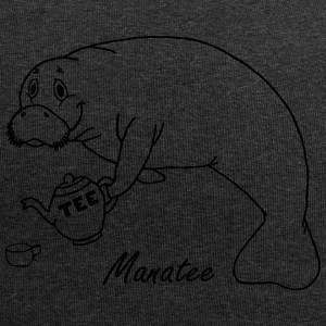Manatee zoals thee - Jersey-Beanie