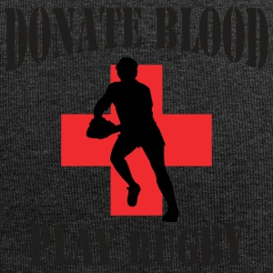 Rugby Donate Blood Play Rugby - Jersey-beanie