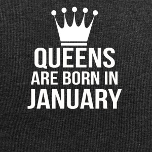 queens are born in january - Jersey-Beanie