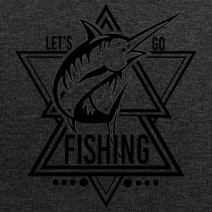 Lets go Fishing - We love Fishing - Jersey-Beanie