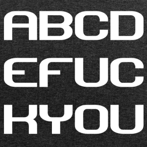 ABCDEFUKYOU - Jersey-Beanie