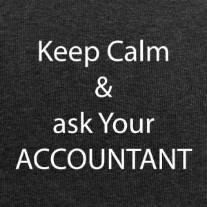 Keep Calm and Ask your Accountant - Jersey-Beanie