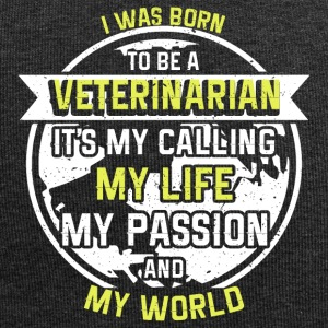Veterinarian out of passion - Jersey Beanie