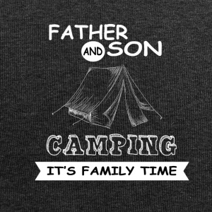 Father And Son - Camping - Jersey Beanie
