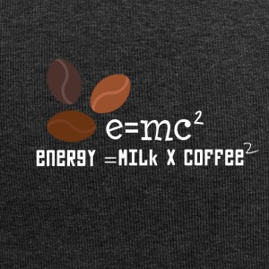 E = MC2 energy milk coffee T-shirt - Jersey Beanie