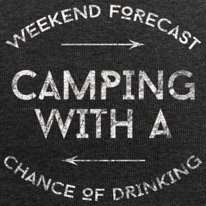 CAMPING WITH A CHANCE OF DRINKING SHIRT - Jersey-Beanie