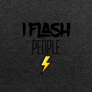 I randomly flash people - Jersey Beanie