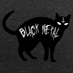 Cat Black Metal - Black Metal cat - Jersey Beanie