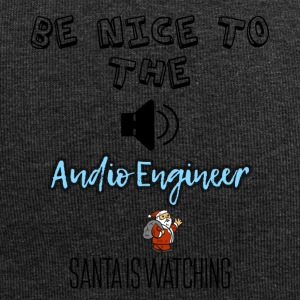 Be nice to the audio engineer Santa is watching - Jersey Beanie