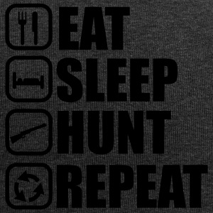 Eet slaap hunt - Hunter - Hunting - Jersey-Beanie