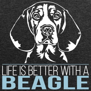 LIFE IS BETTER WITH A BEAGLE - Jersey-Beanie