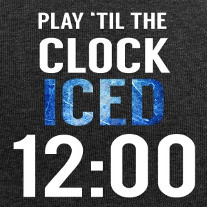 Eishockey: Play ´til the clock iced 12:00 - Jersey-Beanie