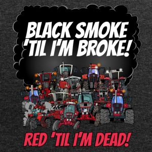 2016_black_smoke_red_IH_tshirt - Jersey-Beanie