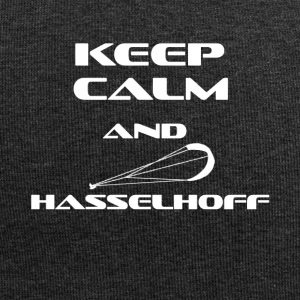KITESURFING KEEP CALM AND HASSELHOFF - Jersey-Beanie