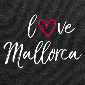 l'amore Mallorca in bianco - Beanie in jersey