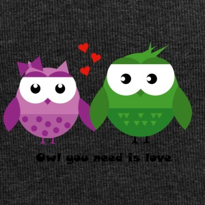 OWL you need is love - Beanie in jersey