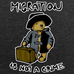 Migration Is Not A Crime - Bonnet en jersey